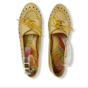 BORN perforated leather loafers 11